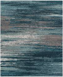 8 10 blue gray area rug