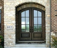 glass double front door. Double Front Doors With Glass Exterior . Door
