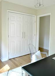 modern french closet doors. Magnet Close (no Door Knobs) DIY Closet Update: How To Update Your Old Bi-fold Doors Modern French Doors! Love The Little Added Touch Of