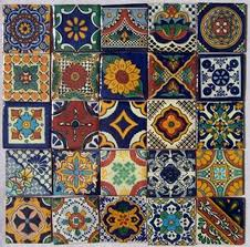 spanish tile table top designs