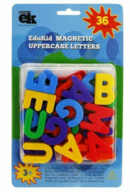 It was devised by the international phonetic association as a standardized representation of the sounds of spoken language. Edukid Toys 36 Abc Capital Alphabet Magnets For Sale Online Ebay