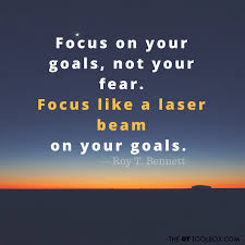 Goal Quotes Stunning Quotes About Goals The OT Toolbox