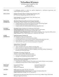 Sample Resume For Engineer  Engg Model Resumes Trust Formed The