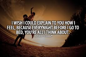 Thinking Of You Quotes For Her Unique I Wish I Could Explain To You Picture Quotes
