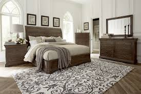 Bedroom Superb Master Bedroom Furniture Wood Sleigh Bed Nightstand Chest  Drawer Dresser With Mirror Furniture Set