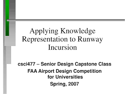 Runway Design Ppt Ppt Applying Knowledge Representation To Runway Incursion