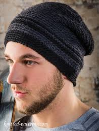 Mens Beanie Knitting Pattern Custom Men's Beanie Free Crochet Pattern
