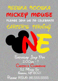 mickey mouse party invitation mickey mouse clubhouse party invitations elegant meeska