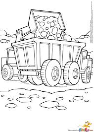21 Dessins De Coloriage Bulldozer Imprimer