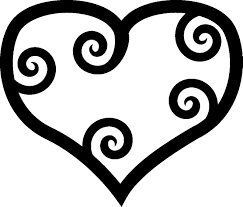 Small Picture Heart Coloring Pages coloringsuitecom