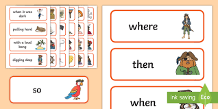 vocab cards with pictures pirate vocabulary cards pirates pirate word cards pirate vocab cards