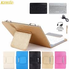 Kemile <b>7.9inch</b> Portable Leather <b>Case Cover</b> Stand+<b>Wireless</b> ...
