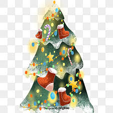 <b>Cartoon Christmas Tree</b> PNG Images | Vector and PSD Files | Free ...