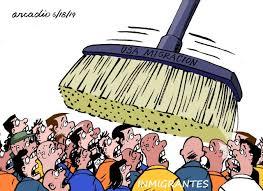 Inmigrantes en peligro. | Humor Político – Rir pra não chorar