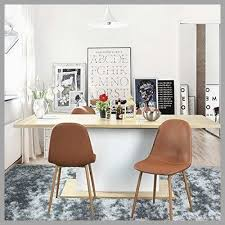 leather chair pads dining room lovely greenforest eames chairs washable pu leather cushion seat