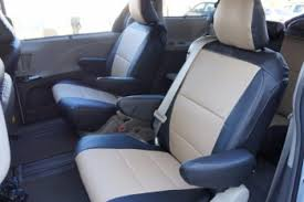 2004 2018 toyota sienna custom full set front and back seat covers