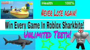 win every game sharkbite roblox never get hit by a shark again  win every game sharkbite roblox never get hit by a shark again glitch unlimited shark teeth