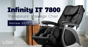 massage chair 2017. infinity it 7800 therapeutic massage chair review 2017 - institute