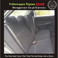 volkswagen tiguan rear waterproof neoprene seat covers