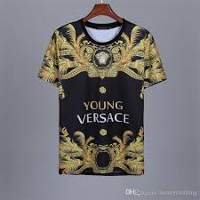 Young Versace Size Chart Luxury Mens Wear Designer T Shirts Summer And Autumn Design Shirts Fashion Couple Polo Shirts Alphabet Sports Series Short Sleeves Pp