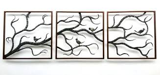 outdoor wall art decor website inspiration metal with outside image trees and fence