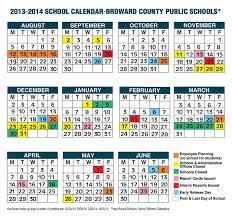 School Calendar Template 2015 2020 Coral Springs Florida Schools Coral Springs Schools With
