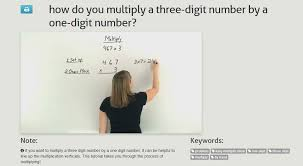 Teaching 4.NBT.B.5 – Multiply a Whole Number of up to Four Digits ...