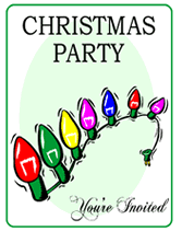 Printable Holiday Party Invitations Free Printable Christmas Party Invitation Templates