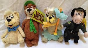 get ations retired yogi bear 6 plush set of 4 with yogi bear boo boo