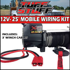 trailer winch wiring kit trailer image wiring diagram tuff stuff 25 ft mobile winch wiring kit 2 receiver mobile on trailer winch wiring kit