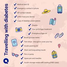 Quins Diabetes Travel Checklist Quin