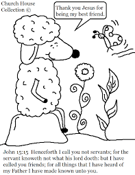 Small Picture John 1515 Sheep Coloring Page