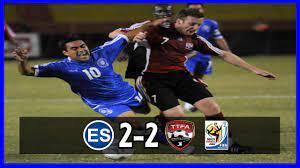 El Salvador [2] vs Trinidad y Tobago [2 ...