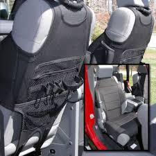 rugged ridge front seat vests neoprene black pair jeep wrangler jk 2007 2018 jl