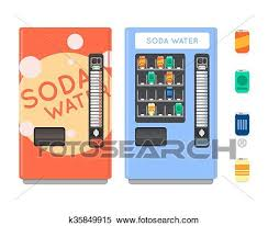 Vending Machine Graphics Fascinating Clipart Of Vending Machine Set Sell Snacks And Soda Drinks Vending