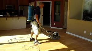 Wood Floor Screening, Buffing, Recoating in Scottsdale, Sun City, Arizona -  YouTube