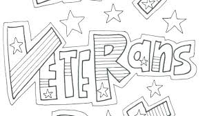 Coloring Pages For Veterans Day Happy Veterans Day Coloring Pages