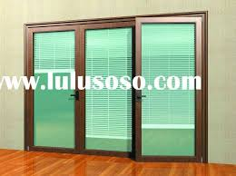 marvelous sliding glass doors with blinds between glass with patio sliding glass doors with blinds between