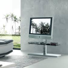 kino swivel tv stand with glass shelves free standing model e
