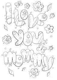 Best Mom Ever Coloring Pages Back Mom Birthday Coloring Pages