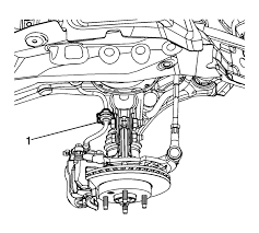 Chevrolet sonic repair manual strut assembly removal and