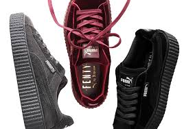 Puma Velvet Creepers Grey Sneaker News Rihanna Has Been Pumas Biggest Cosign In Recent Years As Her Puma Creepers Model Smash Hit For Its Classic Shape Simple Design Where To Buy Velvet Online Sneakernewscom