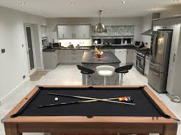Pool And Dining Table Black Cloth Kitchen Pool Table In Grey Kitchen Signature