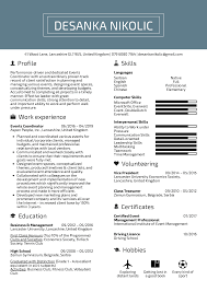 Event Planner Resume Objective Resume Examples By Real People Events Coordinator Resume