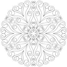 Free Printable Coloring Mandalas Printable Coloring Pages Adults