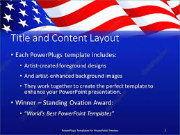 Patriotic Powerpoint Templates Free Casual Powerpoint Templates