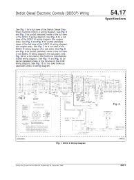 ddec 3 wiring diagram wiring diagram  at Detroit 60 Ser Ddec3 Ecm Wiring Diagram