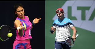 She was reared in a completely different environment with multiracial parents. Ferry And Raducanu Win British Masters Title Tennis Sports Jioforme