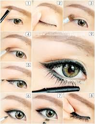 beautiful makeup ideas with chinese makeup step by step with step by step asian eye makeup