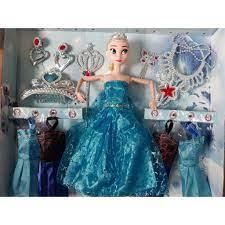 Đồ chơi búp bê công chúa elsa có khớp và phụ kiện 669 giá cạnh tranh